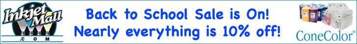 InkjetMall Back to School Sale!